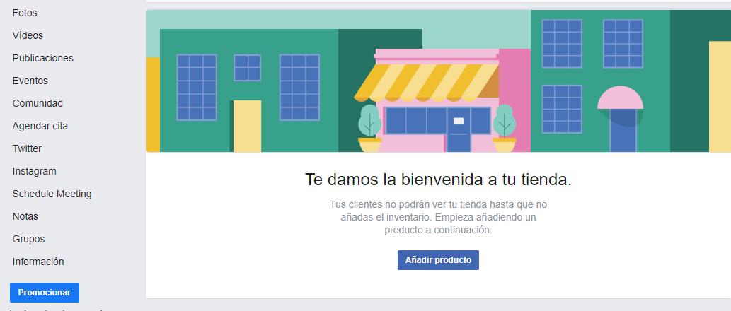 tienda de facebook
