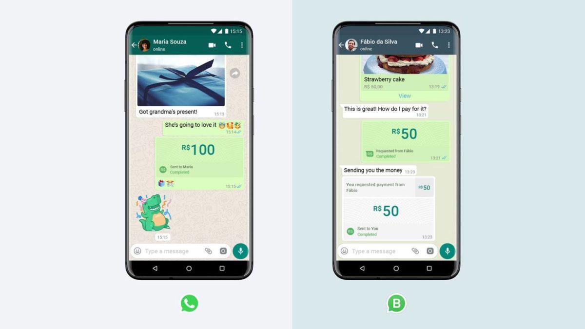 pagos en whatsapp
