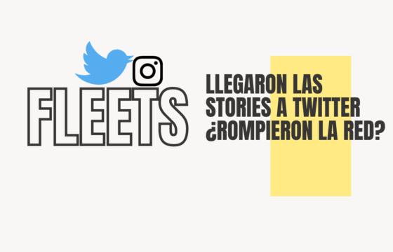 fleets: llegaron las stories a Twitter