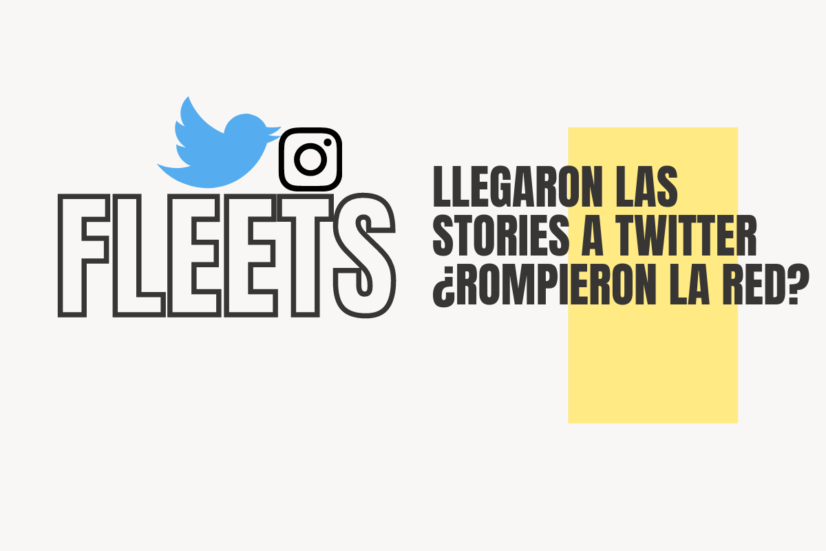 fleets: llegaron las stories a Twitter
